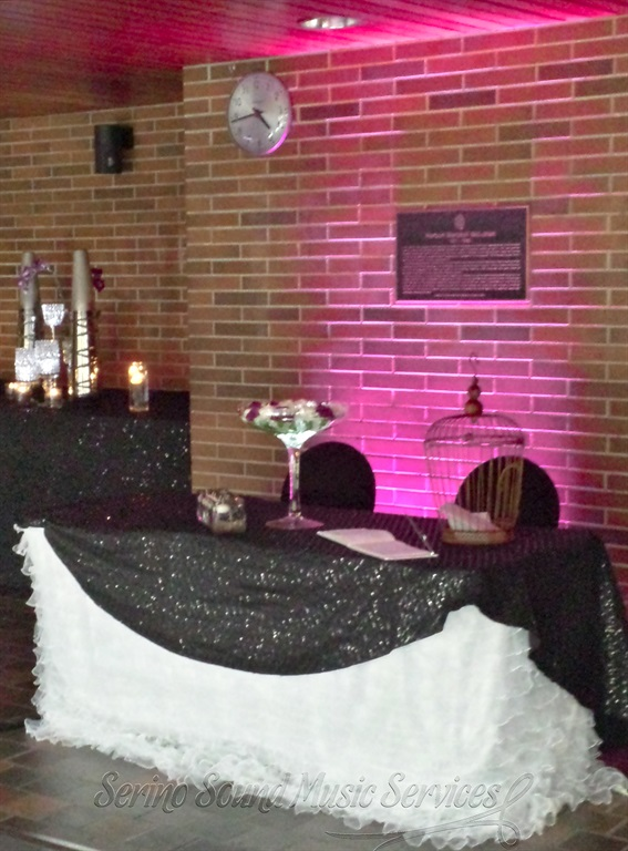 Fuchsia decor lighting