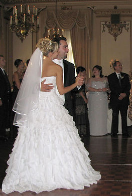 Bride and Groom's First Dance at the Hotel Fort Garry