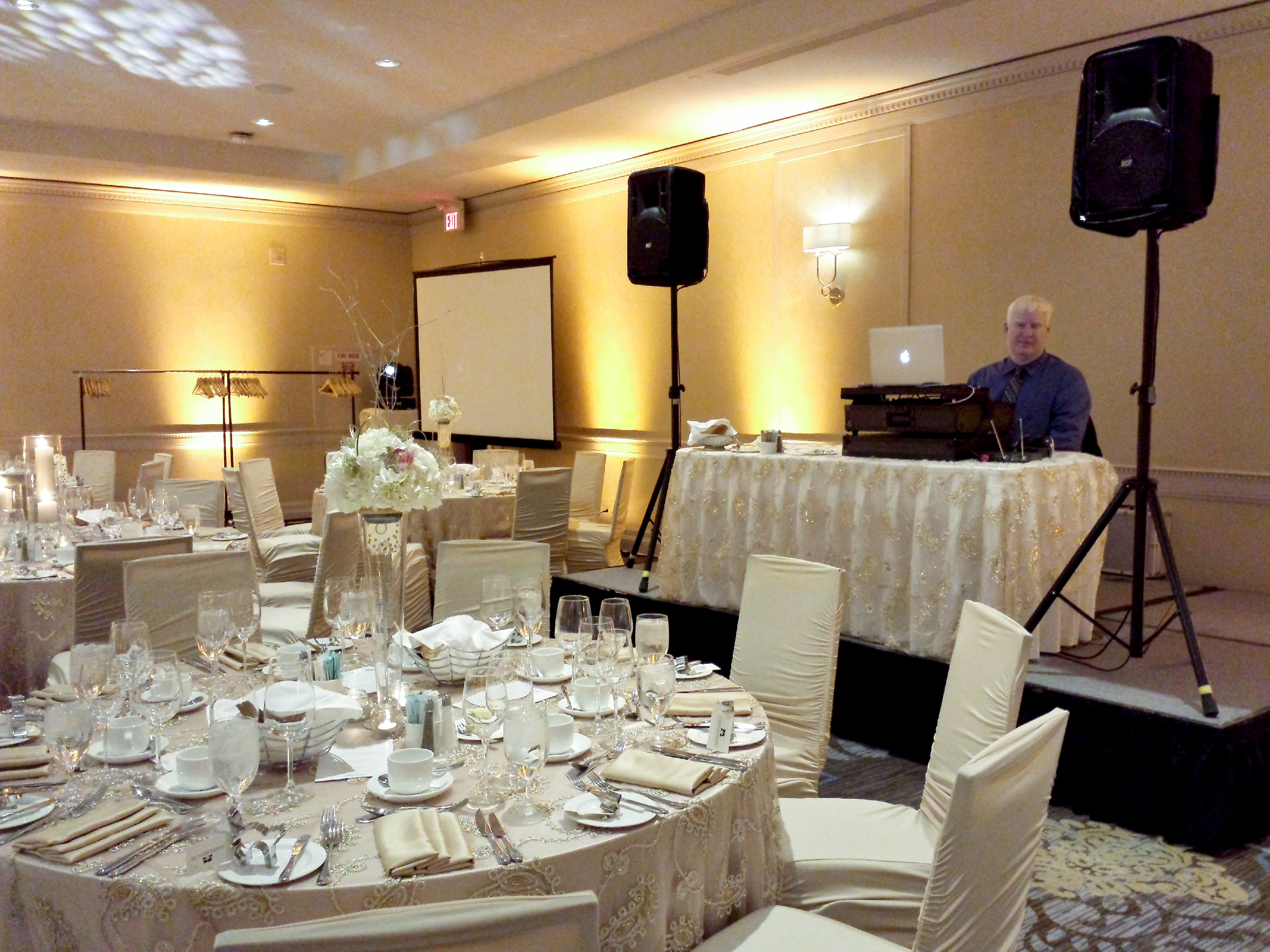 DJ Vito at a wedding reception