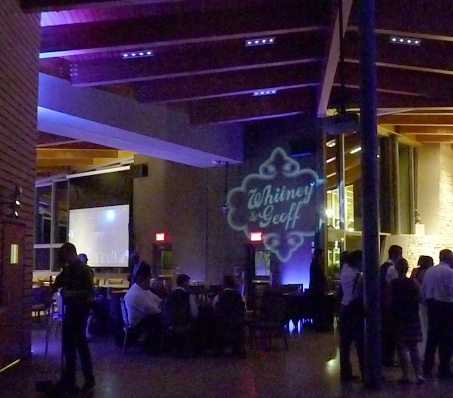 Uplighting, Qualico Family Centre