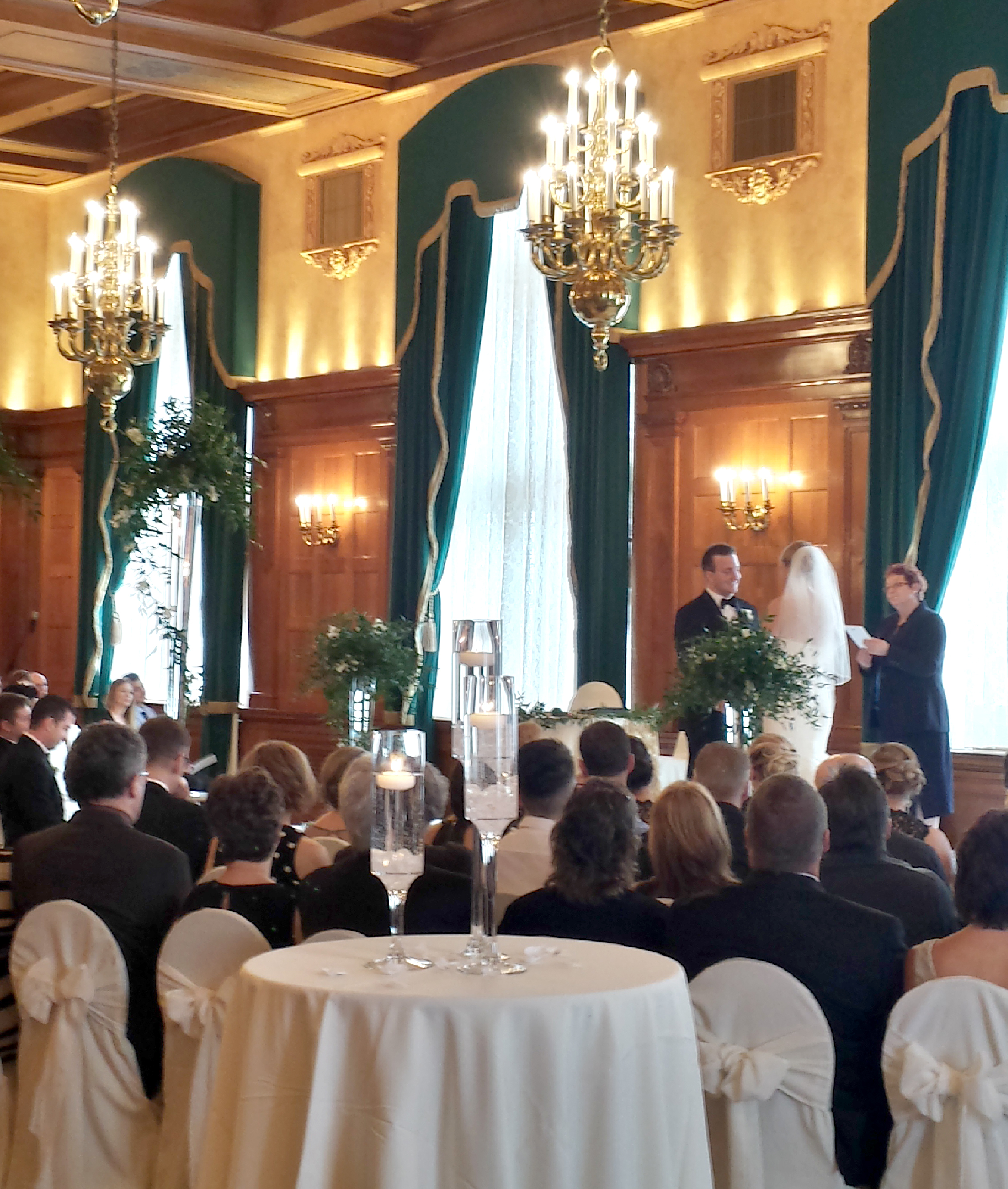 Wedding Ceremony Fort Garry Hotel Concert Ballroom