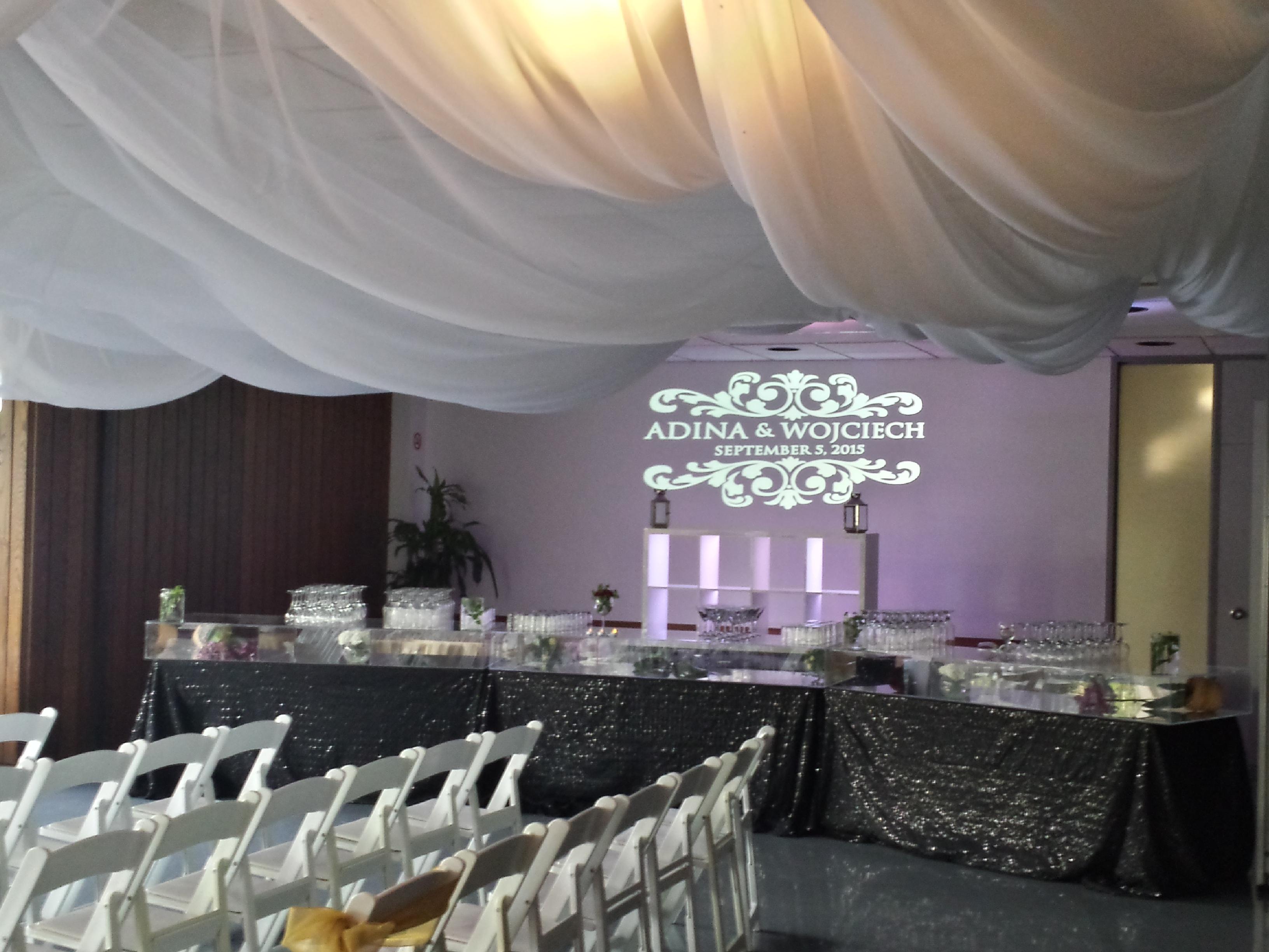 Indoor Wedding Ceremony, U of M