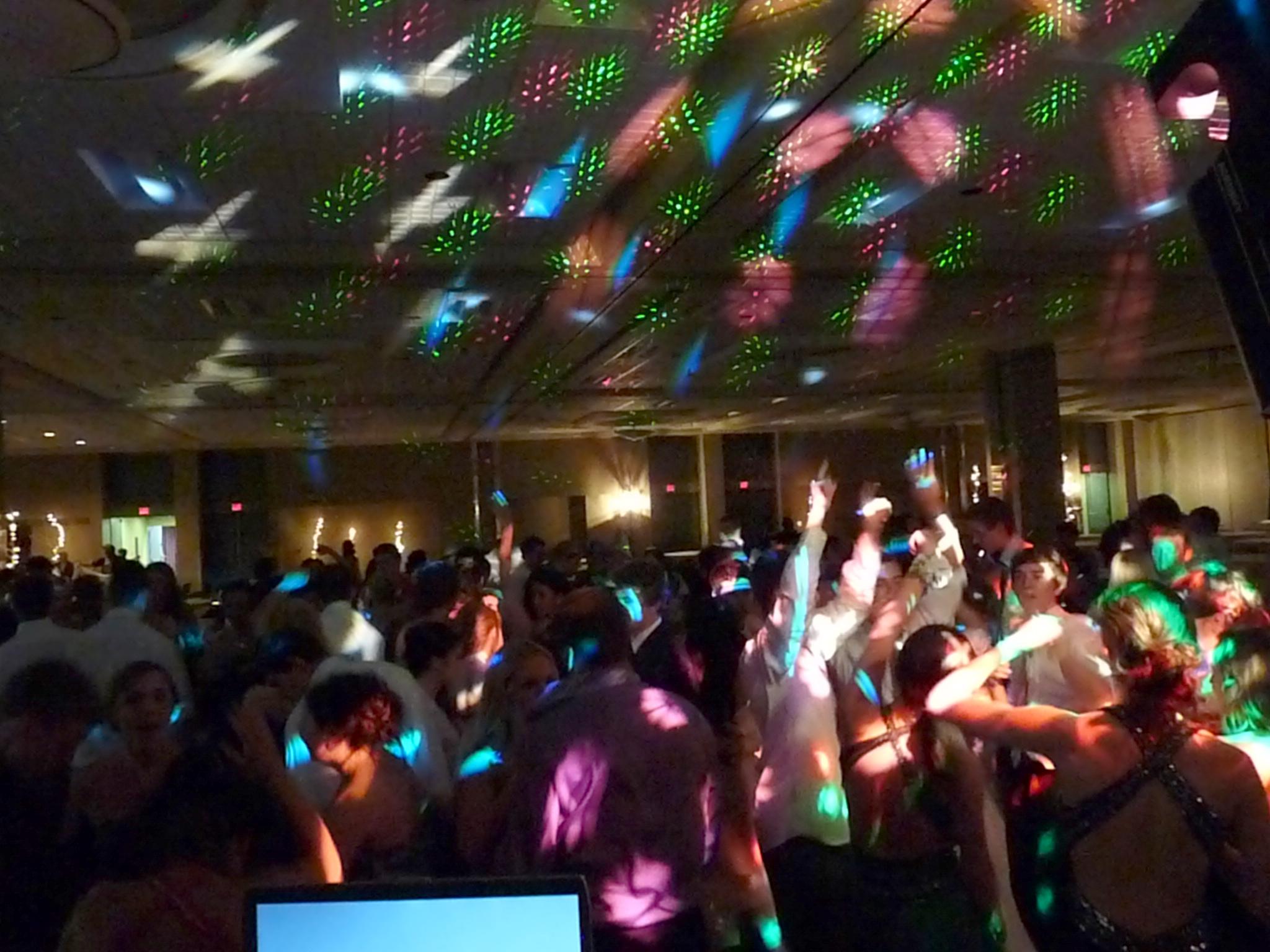 Dance Floor Light Show