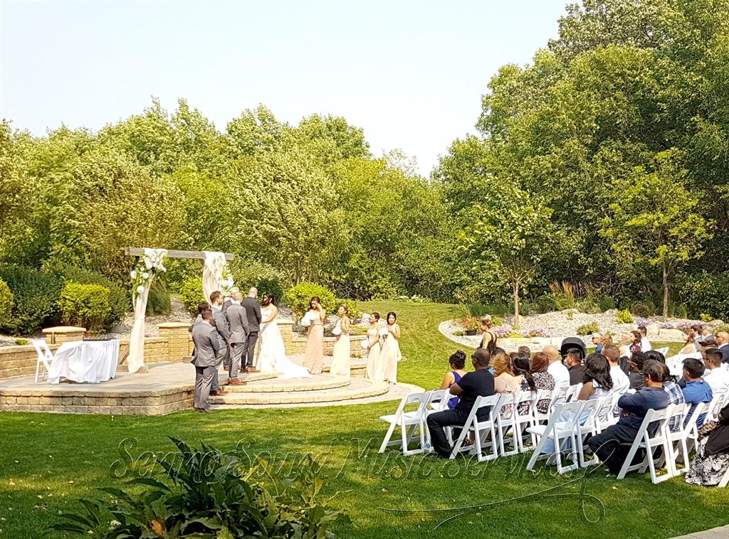 Wedding Ceremony - Bridges Golf Course
