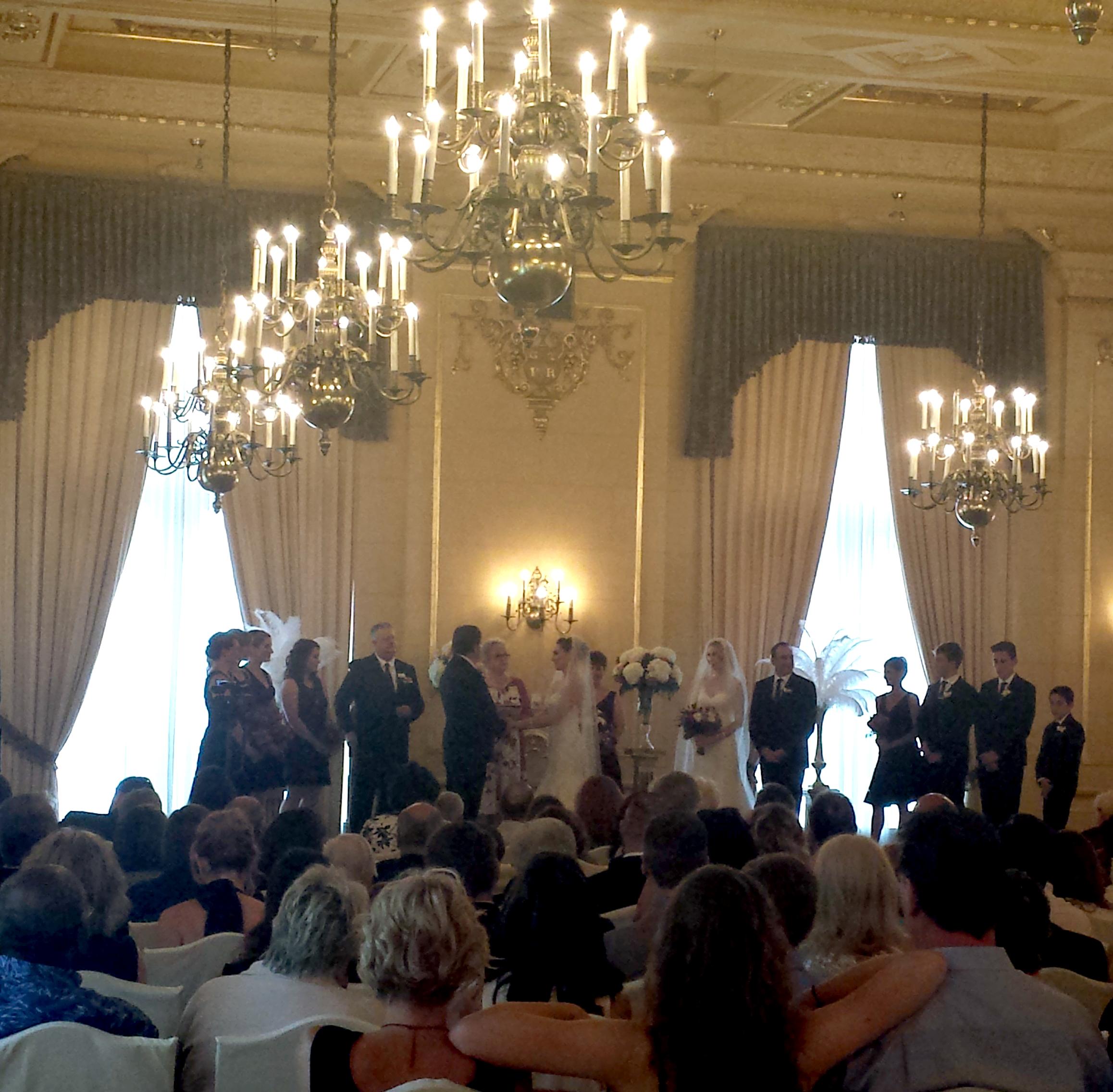 Fort Garry Hotel Provencher wedding