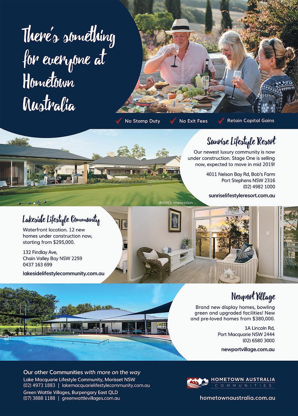 hometown australia - Retirement Living Australia