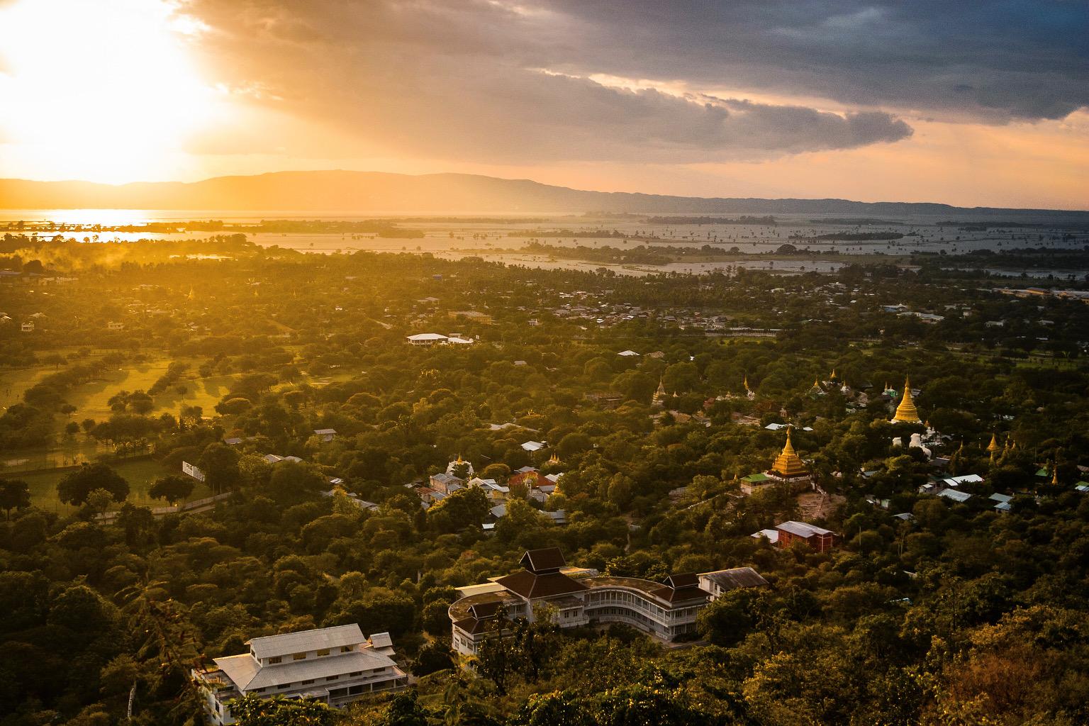 Mandalay Hill View