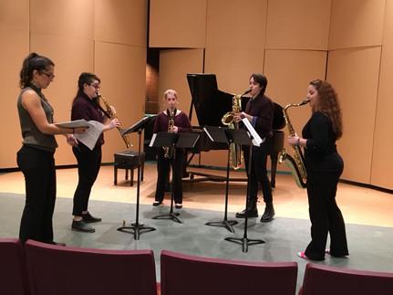 The Ilithios Quartet Masterclass with Katherine Weintraub