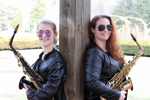 Abby Pollock and Giovanna Virgil: A Joint Saxophone Recital