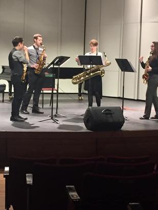Elements Quartet  Recital NASA 2019