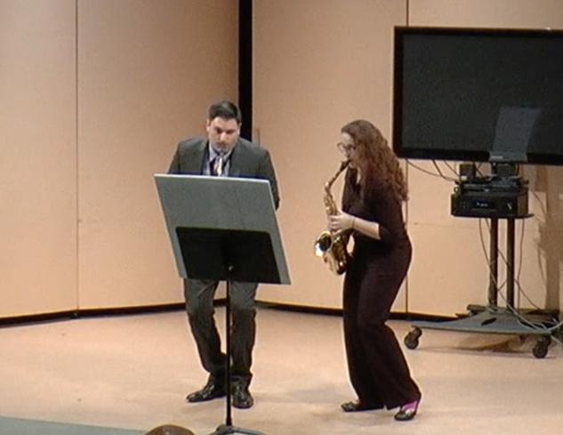 Joseph D'Aleo and Giovanna Virgil at Carrie Koffman's 50th Birthday Recital