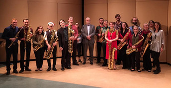 Tis The Season: Hartt Saxophone Studio Recital