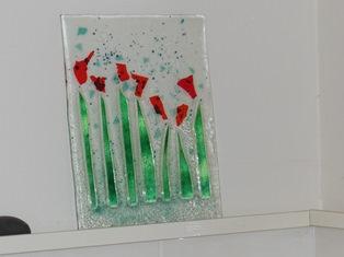 glaskunst bloemen
