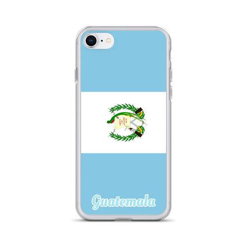 iPhone Case Guatamela flag
