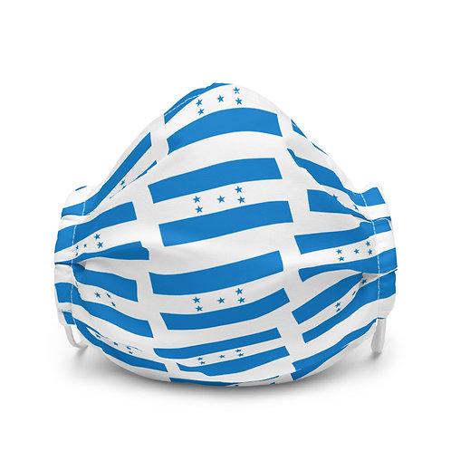 Premium face mask Honduras flag pattern