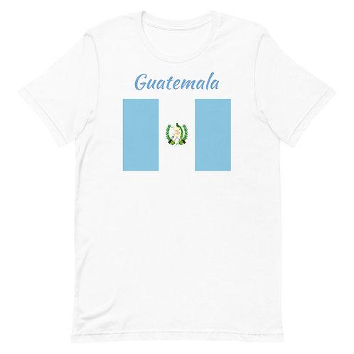 Short-Sleeve Unisex T-Shirt Guatemala Flag