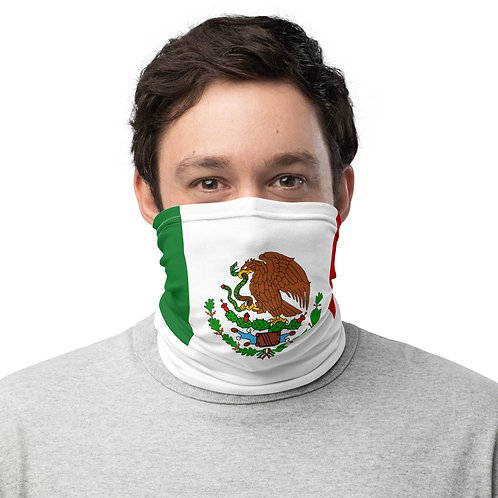 Mexico Flag Color Neck Gaiter