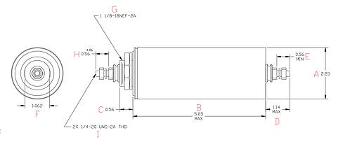 M3171 RFI/EMI TUBULAR FILTER