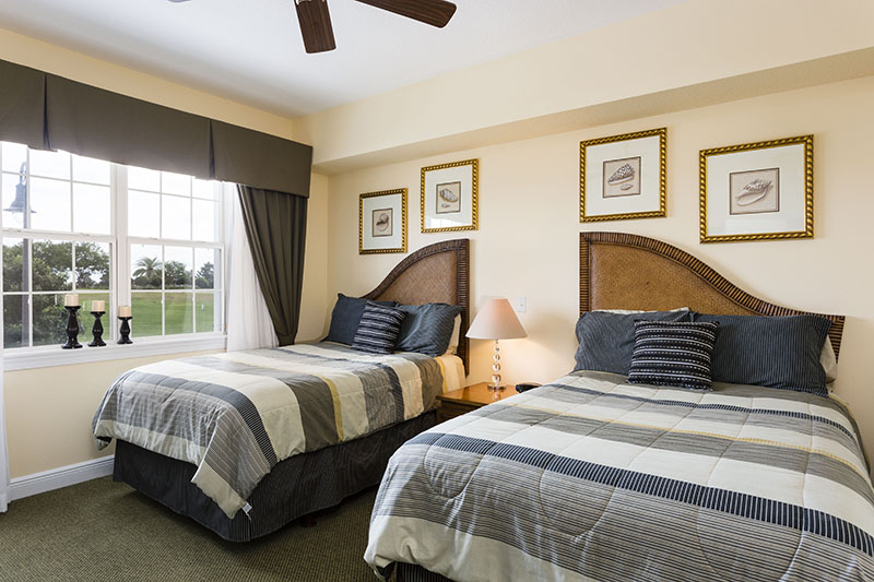Reunion resort condo 3 bedrooms ate 8pax