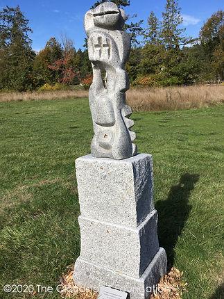 Benefesuto The Warrior Prince at the San Juan Sculpture Park, Roche Harbor, WA