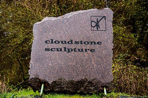 Print- Cloudstone sign