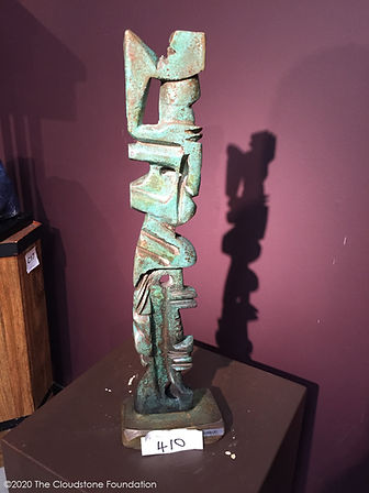 Shang Dynasty Arbitrator at the Whidbey Art Gallery, Langley, WA