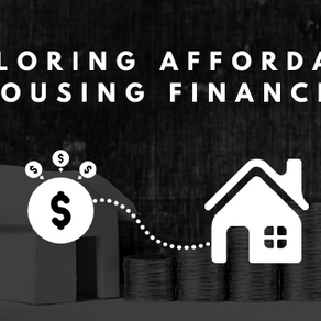 Exploring Affordable Housing Finance