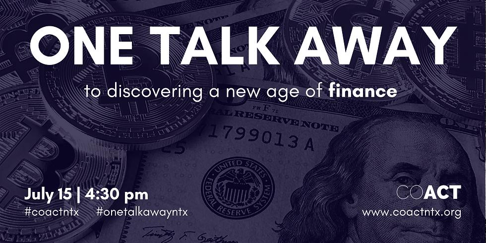 One Talk Away   Finance