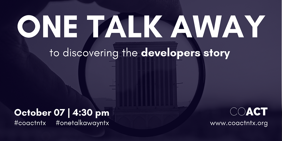 One Talk Away | The Developers Story