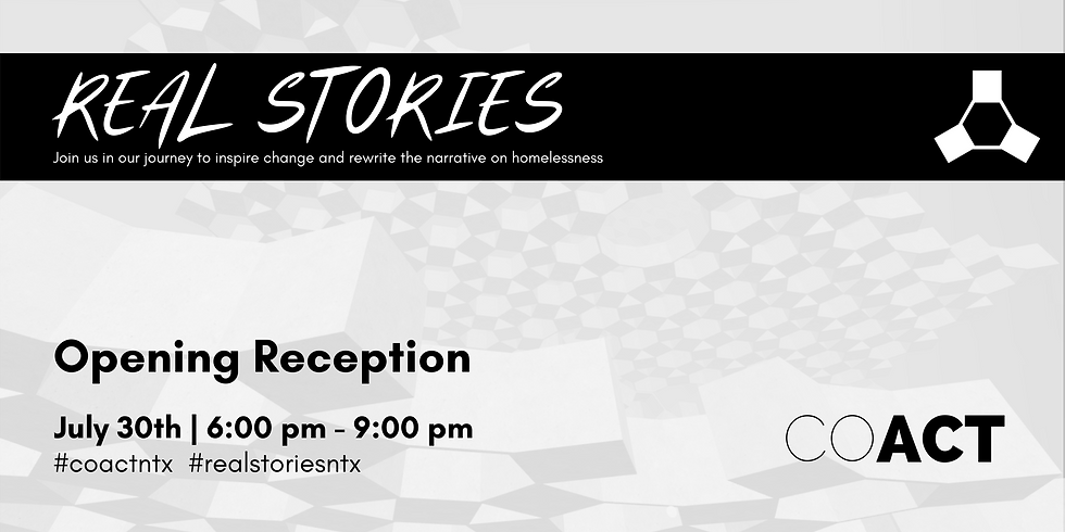 Real Stories Opening Reception