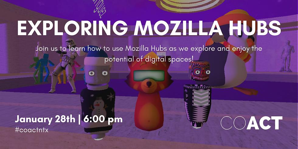 Exploring Mozilla Hubs