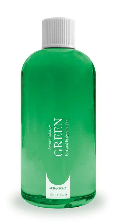 Flower Shower Hair and Body Shampoo - Green