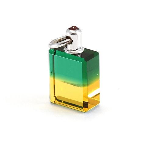 IRIS #31 The Fountain - Green/Gold