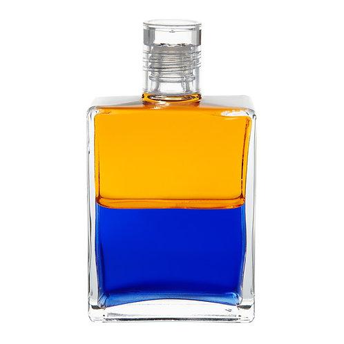 Bottle #97 Archangel Uriel - Gold/Royal Blue