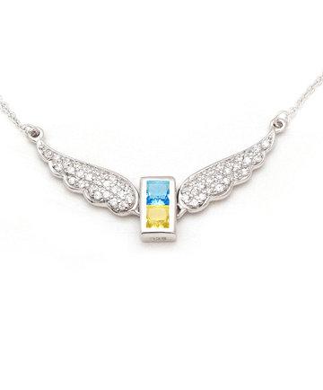 925Silver Archangel Michael WingsPendant MFN0005-94