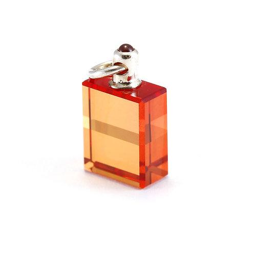 IRIS #26 Etheric Rescue; Humpty Dumpty Bottle - Orange/Orange