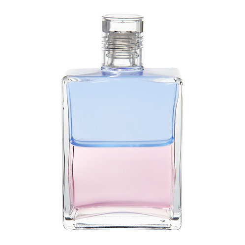 Bottle #58 Orion & Angelica - Pale Blue/Pale Pink