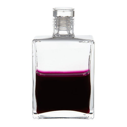 Bottle #100 Archangel Metatron - Clear/Deep Magenta