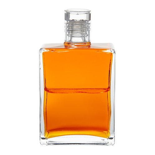 Bottle #26 Etheric Rescue; Humpty Dumpty Bottle - Orange/Orange