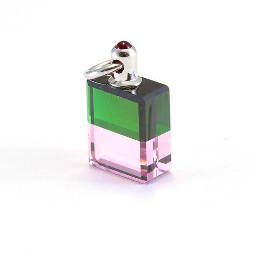 IRIS #21 New Beginning for Love - Green/Pink