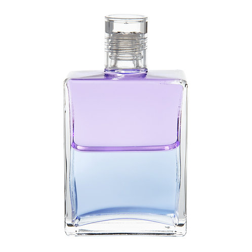 Bottle #44 The Guardian Angel - Lilac/Pale Blue