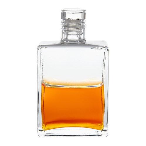 Bottle #120 Persephone - Clear / Orange