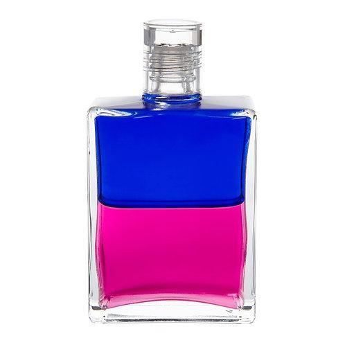 Bottle #116 Queen Mab - Royal Blue/Magenta
