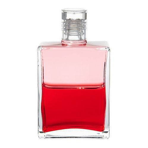 Bottle #84 Candle in the wind - Pink/Red