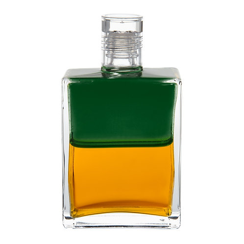Bottle #31 The Fountain - Green/Gold