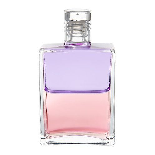 Bottle #66 The Actress, The Victoria bottle - Pale Violet/Pale Pink