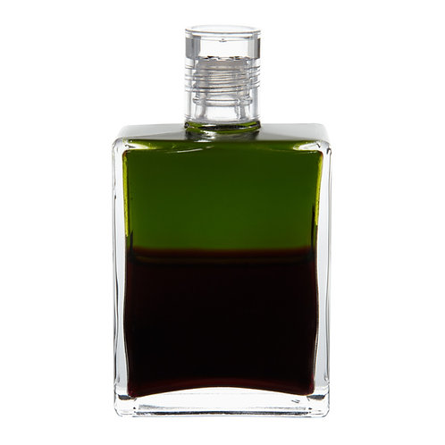 Bottle #102 Archangel Samael - Deep Olive/Deep Magenta