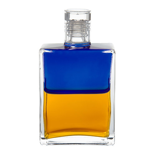 Bottle #32 Sophia - Royal Blue/Gold