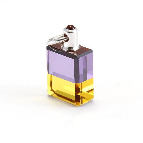 IRIS #39 Egyptian Bottle 2, The Puppeteer - Violet/Gold