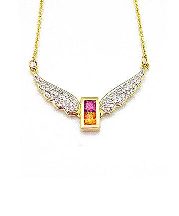 9K Gold Archangel Gabriel WingsPendant MFN0005G-95